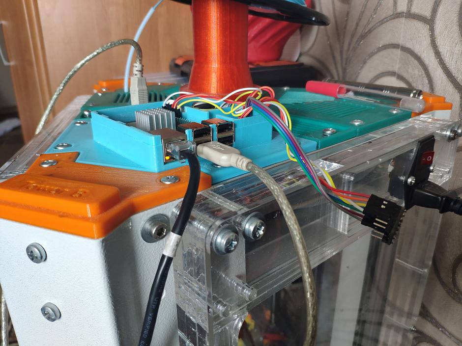 Klipper без USB  Интеграция «апельсинки» в 3D-принтер  — Tough-3f